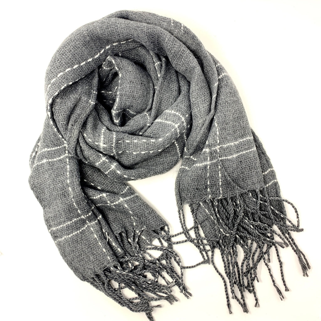Delicate Plaid Scarf - StyleAlum