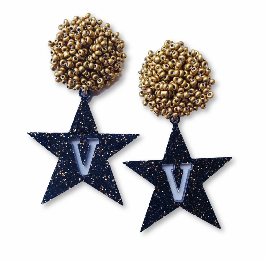 Vanderbilt University Star Earrings