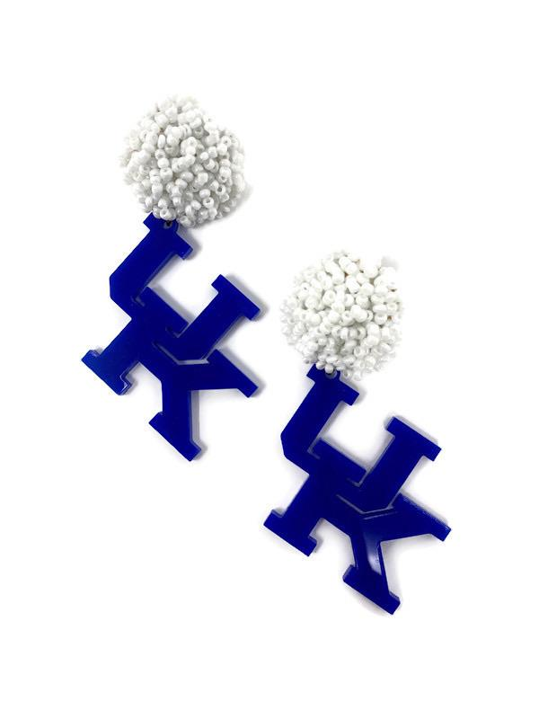 Kentucky Wildcats Earrings - StyleAlum