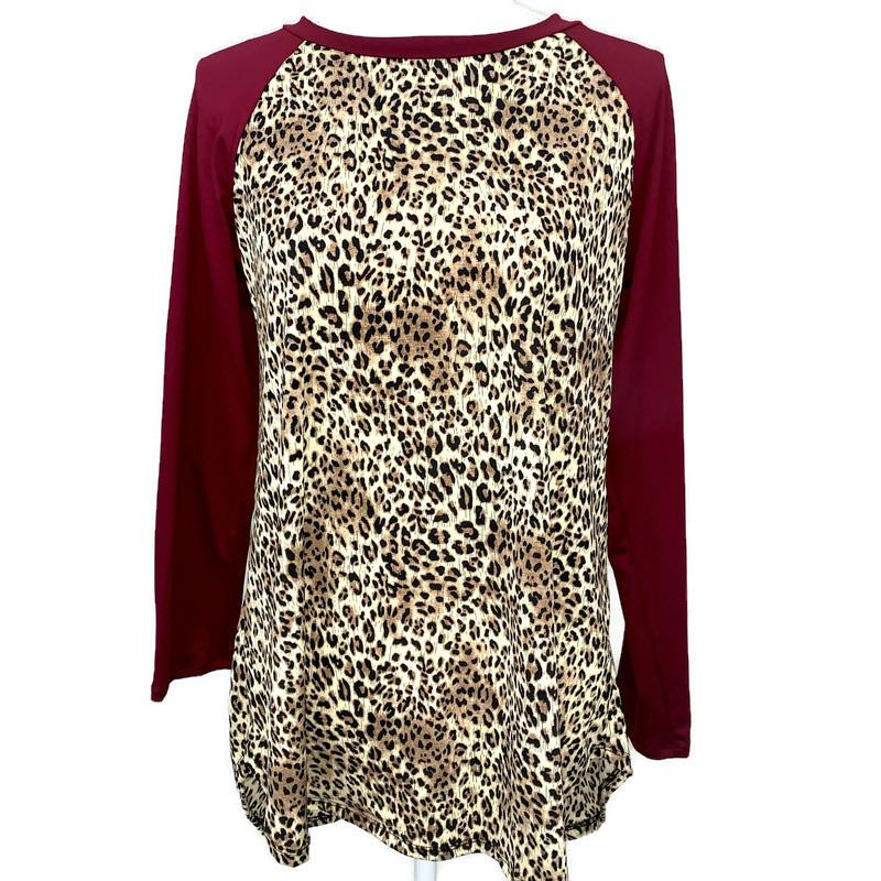 Leopard Fashion Top - StyleAlum