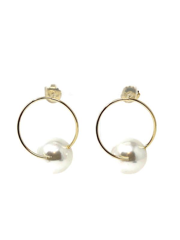 Pearl Hoop Earrings - StyleAlum