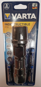 VARTA Taschenlampe LED 1W , Indestructible , inkl. Batterien 3AAA
