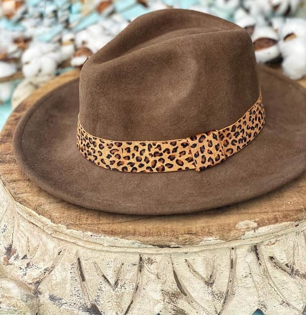 Fancy Fedora In Tan