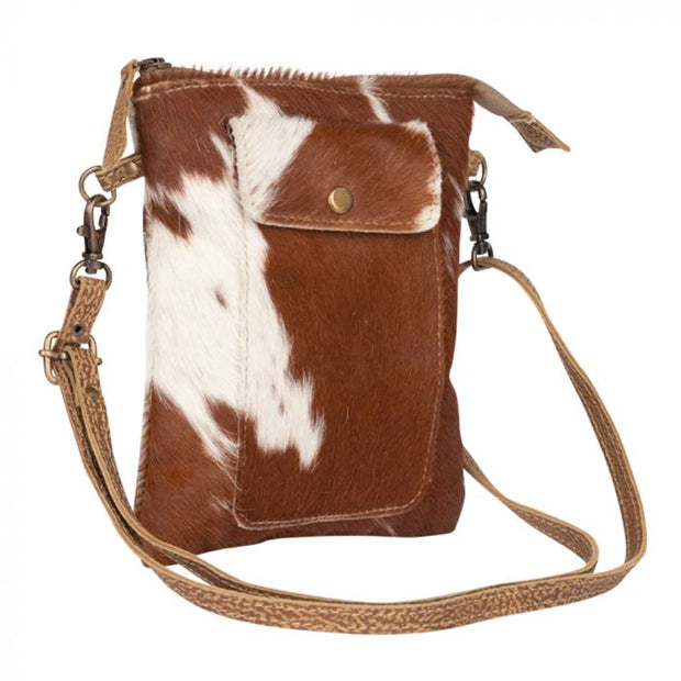 Leather Lithe Hairon Small Bag