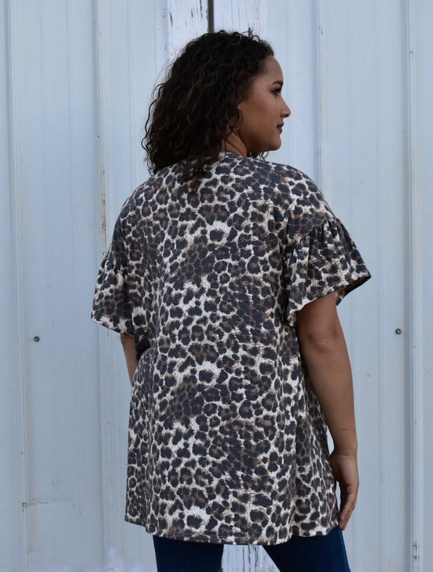 Wild West Cheetah Cardigan