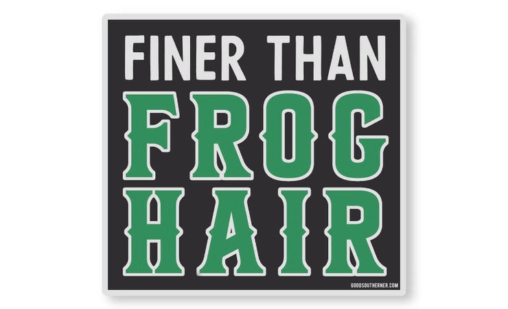 Frog Hair Sticker