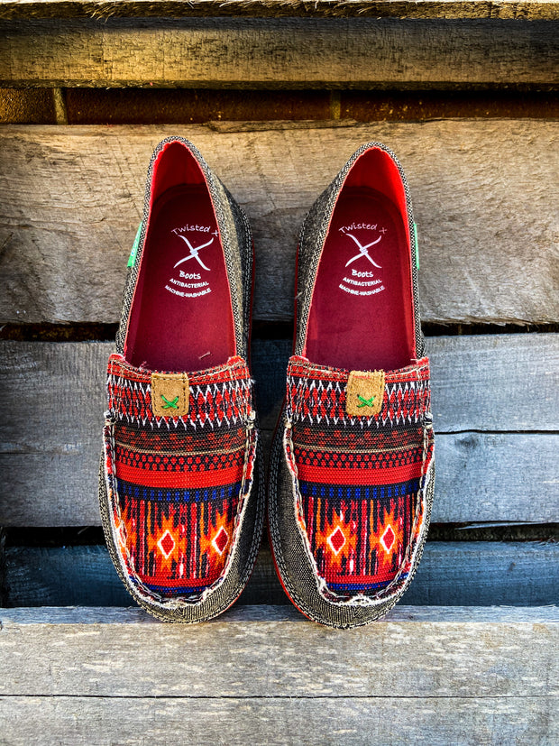 Dusty Red Loafer