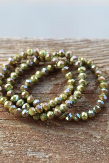 Stretch Bracelet Deep Olive