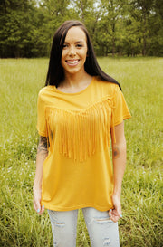 Rowdy Springs Tassel Top
