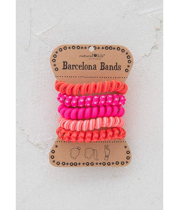 Natural Life Paracord Pink Barcelona Bands