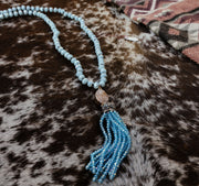 The Tess Teal Necklace
