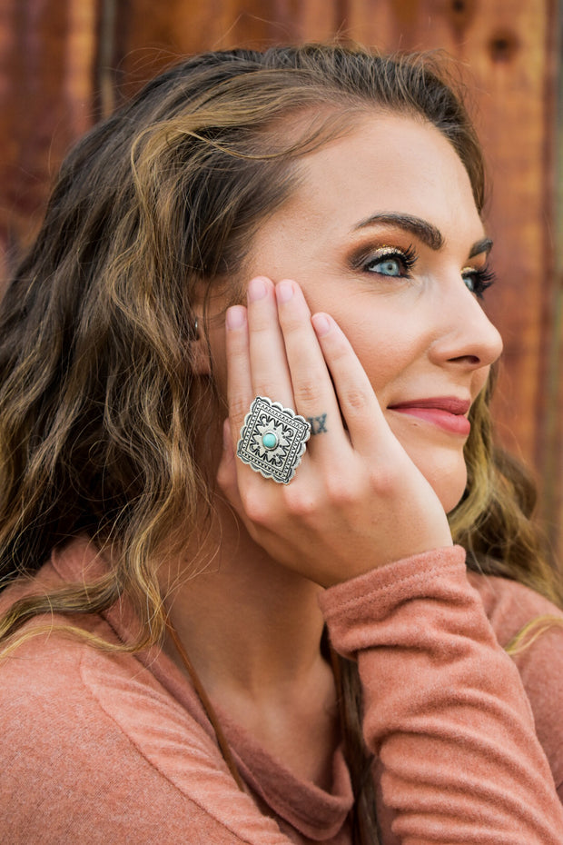 Josephine's Silver Statement Ring