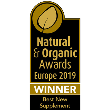 Natural & Organic Awards Europe 2019 Winner Best New Supplement
