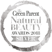 the green parent natural beauty awards 2018 silver