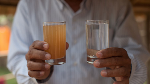 Vessi is working with charity: water to bring clean water to communities in need all over the world