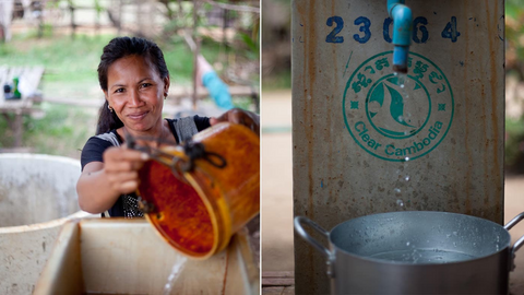 Charity: Water's BioSand Filters providing Clean Water in Cambodia