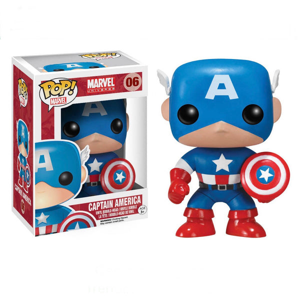 Marvel #0006 Captain America