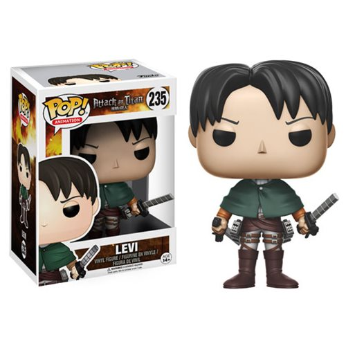 Animation #0235 Levi - Attack on Titan