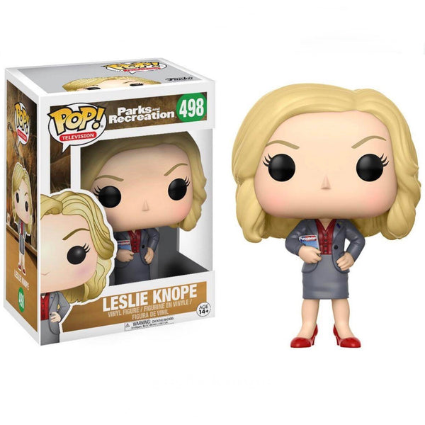 Television #0498 Leslie Knope - Parks and Recreation