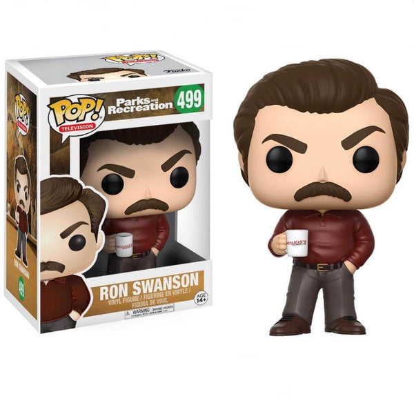 Television #0499 Ron Swanson - Parks and Recreation