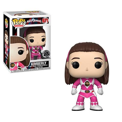 Television #0671 Kimberly Pink Ranger (no Helmet) - Power Rangers