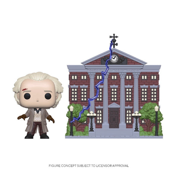 POP! Town #015 Doc with Clock Tower - Back to the Future