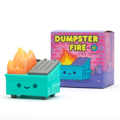 100% Soft - Dumpster Fire Vinyl Figure