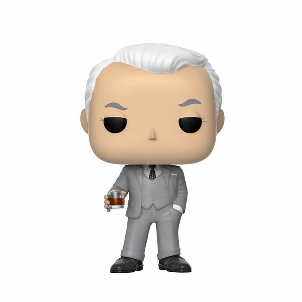 Television #0911 Roger Sterling - Mad Men