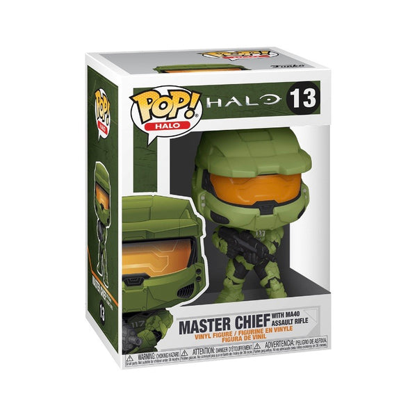 Halo #13 Master Chief (with MA40 Assault Rifle)