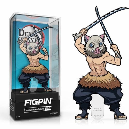 FiGPiN #380 Inosuke Hashibira - Demon Slayer