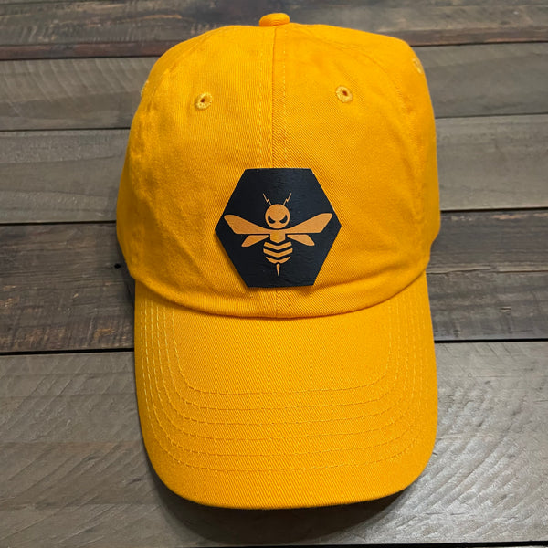 Beehive Collectibles Classic Dad Cap - Gold (Version 2 Logo)