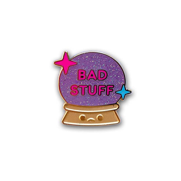 100% Soft - Bad Stuff Crystal Ball Enamel Pin