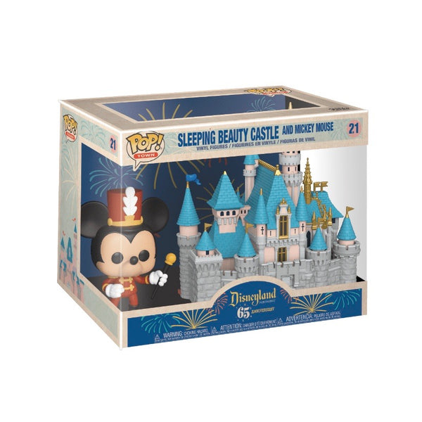 POP! Town #021 Sleeping Beauty Castle with Mickey Mouse - Disneyland Resort 65th Anniversary