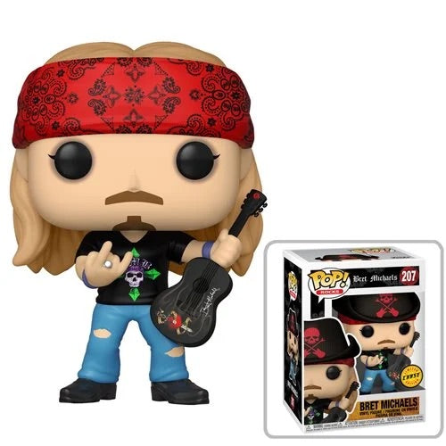 PREORDER • Rocks #207 Bret Michaels (CHASE Bundle)