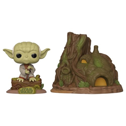 POP! Town #011 Dagobah Yoda with Hut - Star Wars : The Empire Strikes Back
