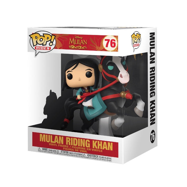 POP! Rides #076 Mulan Riding Khan