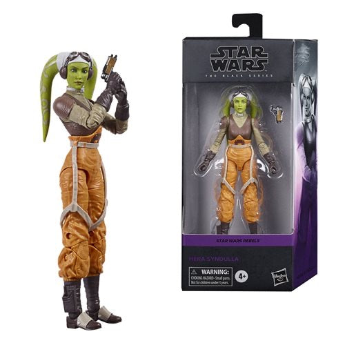 "Hasbro • Star Wars : Rebels 6"" The Black Series - Hera Syndulla"