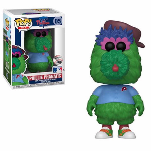 MLB Mascots #005 Phillie Phanatic (Philadelphia Phillies)