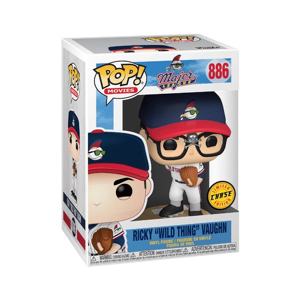 "Movies #0886 Ricky ""Wild Thing"" Vaughn (CHASE) - Major League"