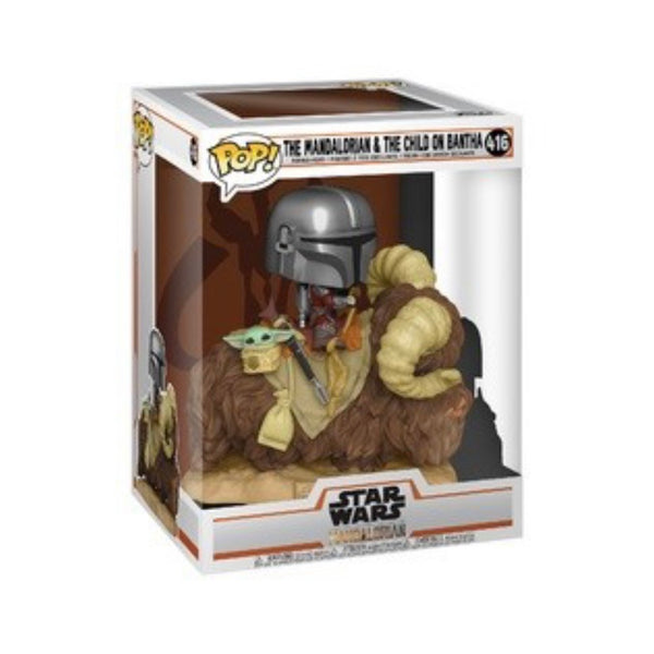 PREORDER • Star Wars #0416 The Mandalorian & The Child on Bantha