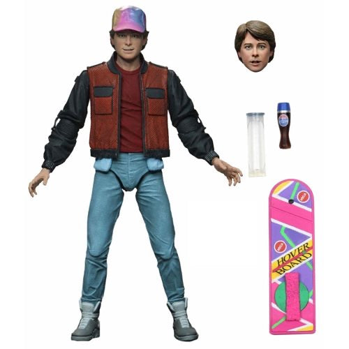 "NECA Ultimate 7"" Scale : Marty McFly - Back to the Future 2"