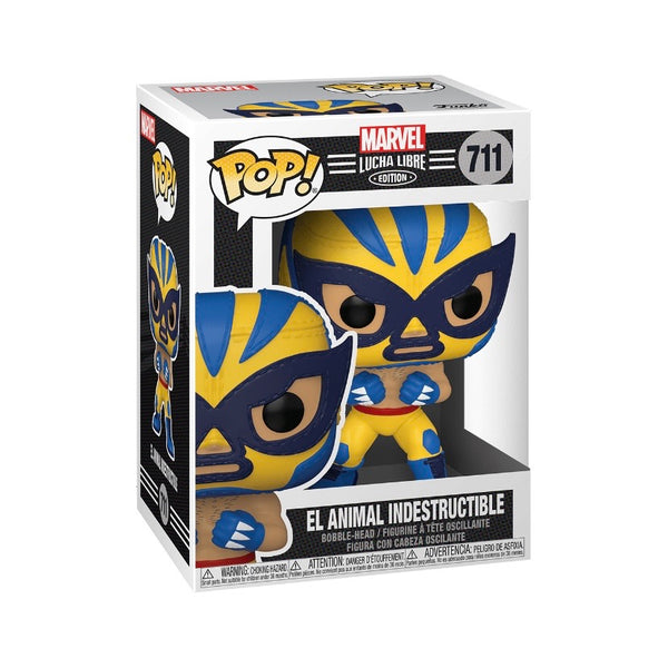 Marvel #0711 El Animal Indestructible (Wolverine) - Lucha Libre Edition