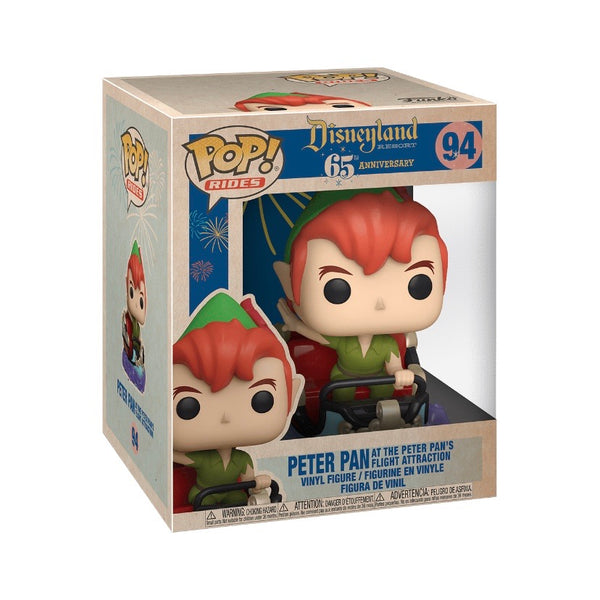 PREORDER • POP! Rides #094 Peter Pan & Flight - Disneyland Resort 65th Anniversary