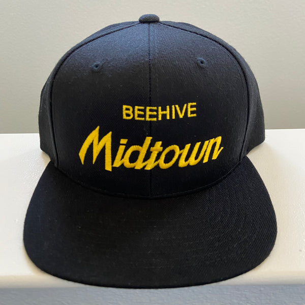 Beehive Collectibles (Beehive Midtown) • Snapback Hat - Black
