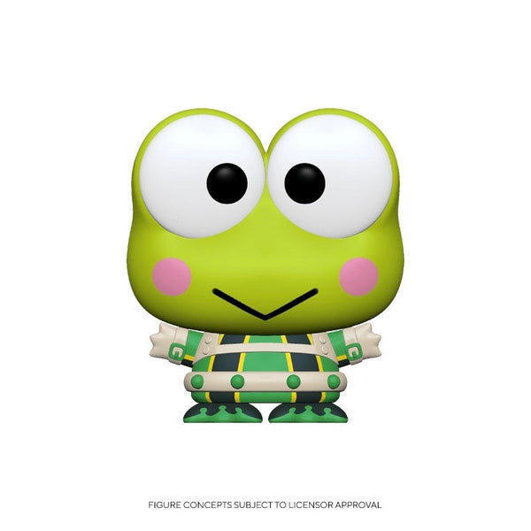 Animation #0796 Keroppi Tsuyu - My Hero Academia X Hello Kitty and Friends
