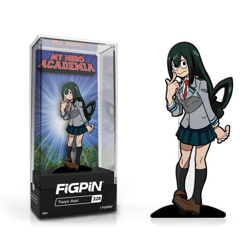 FiGPiN #328 Tsuyu Asui (School Uniform) - My Hero Academia