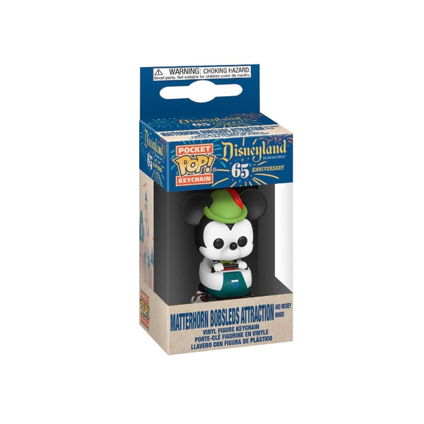POP! Keychain Disney : Mickey Mouse (Matterhorn Bobsled)