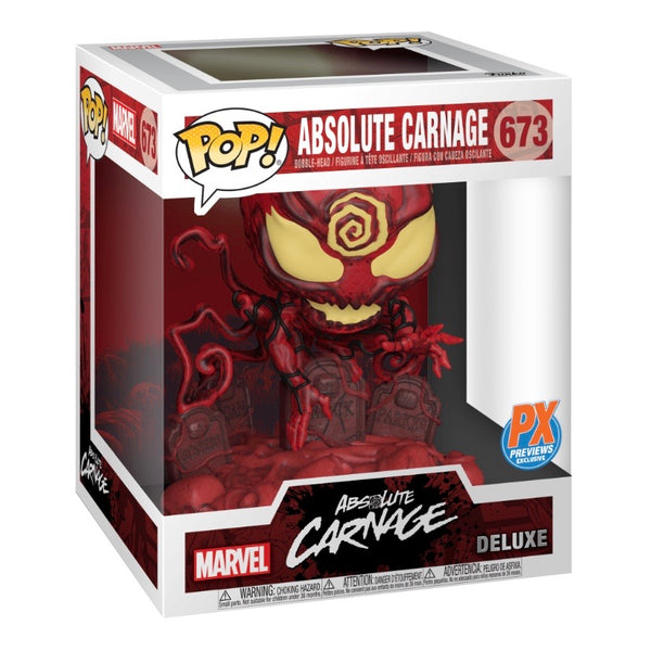 Marvel #0673 Absolute Carnage - POP! Deluxe