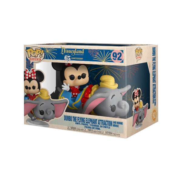 PREORDER • POP! Rides #092 Flying Dumbo Ride with Minnie Mouse - Disneyland Resort 65th Anniversary