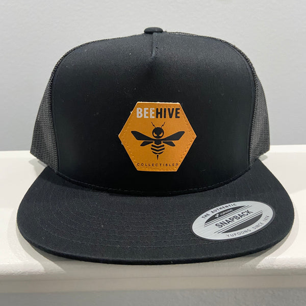 Beehive Collectibles Flat Bill Trucker Cap - Black